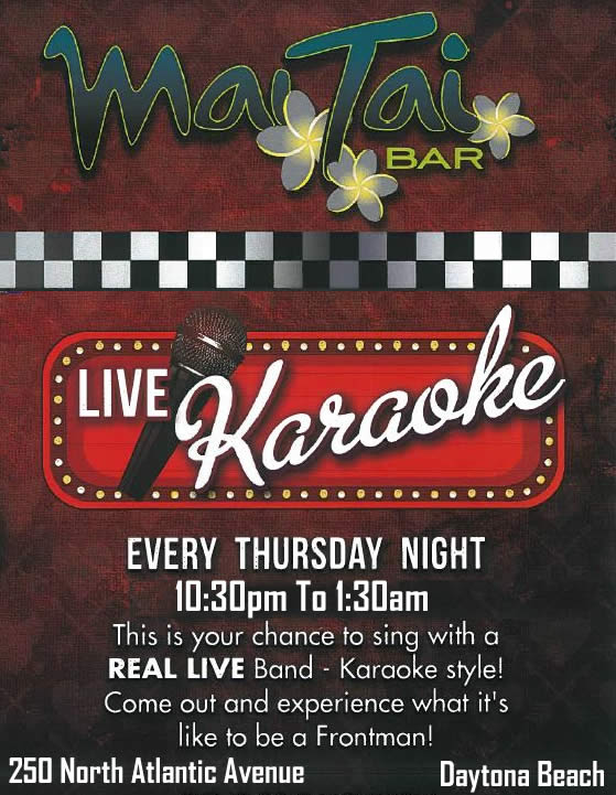 Live Band Karaoke At Mai Tai